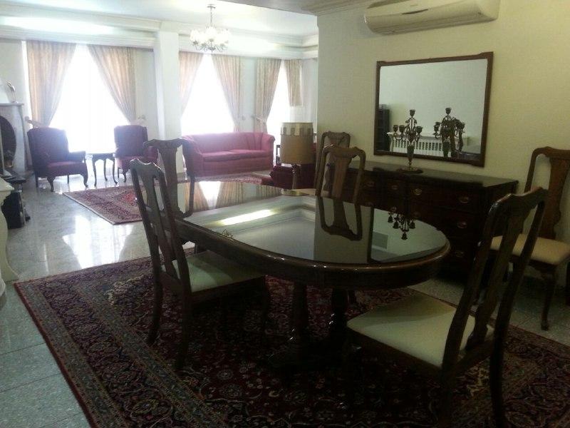 اجاره آپارتمان مبله تهران  3 خوابه 150 مترجردن