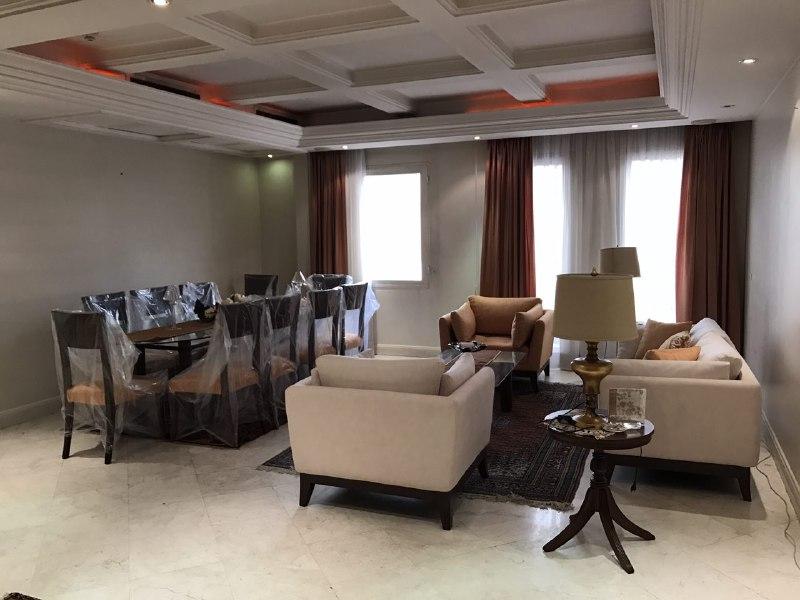 اجاره آپارتمان مبله در تهران زعفرانیه 211متر